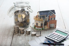 Home loan concept photo Royalty Free Stock Photography