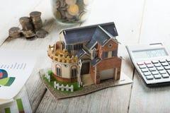 Home loan concept photo Royalty Free Stock Photos