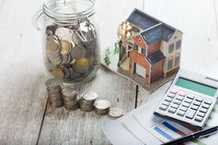 Home loan concept photo stock photography
