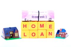 Home loan stock photo