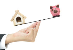Home loan concept Royalty Free Stock Images