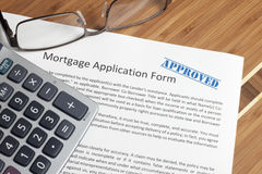 Home loan Royalty Free Stock Photo