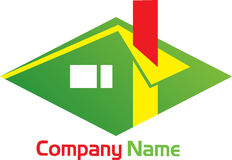 Home logo Stock Photography