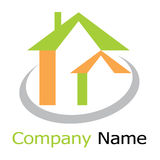 Home logo Royalty Free Stock Photos