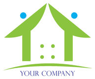 Home logo Stock Image