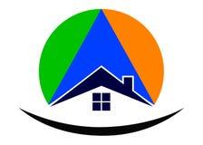 Home logo royalty free illustration