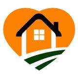 Home logo. Illustration of home logo design isolated on white background Stock Photos