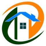 Home logo. Illustration of home logo design isolated on white background Stock Images