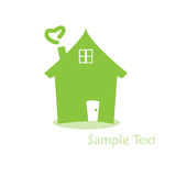 Home  logo Royalty Free Stock Image