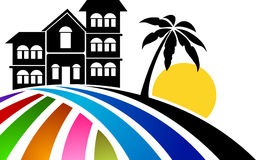 Home logo Royalty Free Stock Image