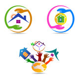 Home logo Stock Images