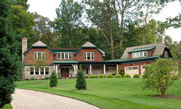 HOME luxuosa 32 do estilo estável rústico imagens de stock royalty free