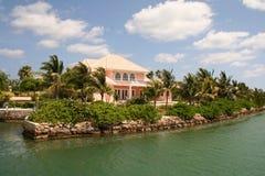 HOME luxuosa Imagem de Stock Royalty Free