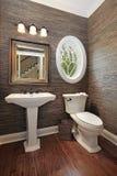 home luxury powder room στοκ φωτογραφία