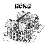 home lyx Stock Illustrationer