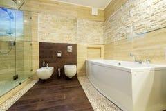 home lyx för badrum Fotografering för Bildbyråer