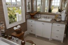 home lyx för badrum Arkivfoto