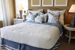 home lyx för sovrum Royaltyfri Fotografi