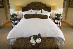 home lyx för sovrum Royaltyfria Bilder
