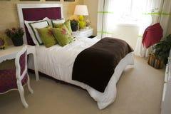home lyx för sovrum Arkivfoton