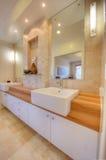 home lyxigt modernt för badrum Arkivbilder