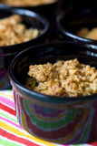 Home made apple crumble Royalty Free Stock Photography