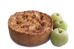 Home made apple pie Royalty Free Stock Images