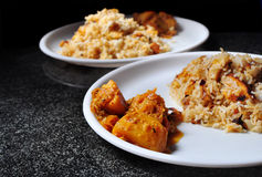 Home made Asian meal Royalty Free Stock Photography