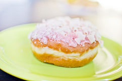 Home made baked donuts Stock Images