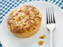 Home made Bakewell tart Stock Photography