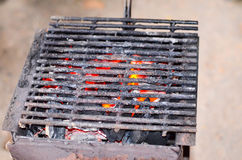Home made barbecue Royalty Free Stock Photos