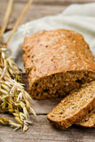 Home-made bread with bran Royalty Free Stock Photography