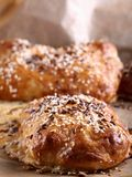 Home-made bread with sesame seed Royalty Free Stock Photography