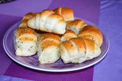 Home made buns Royalty Free Stock Images