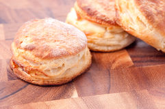 Home made buttermilk biscuits. Buttermilk biscuits made from scratch Stock Image