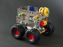 Home made car. Toy Royalty Free Stock Images