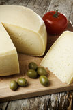 Home made cheese Royalty Free Stock Images
