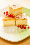 Home made Cheese cake Stock Images