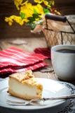 Home made cheese cake Stock Photo