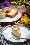 Home made cheese cake Royalty Free Stock Photography