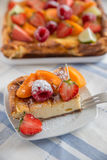 Home made cheesecake Royalty Free Stock Images