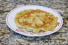 Home made Chinese pancake Royalty Free Stock Photo