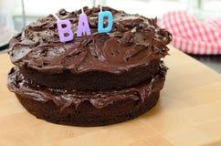 Home made chocolate cake Royalty Free Stock Image