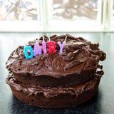 Home made chocolate cake Royalty Free Stock Photo