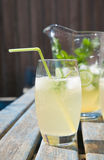 Home-made cloudy lemonade Royalty Free Stock Photography