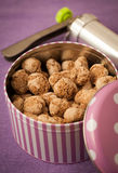 Home made coconut cookies Royalty Free Stock Photography