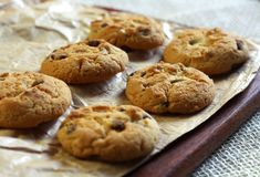 Home made cookies Royalty Free Stock Images