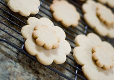 Home_Made_Cookies Foto de Stock Royalty Free
