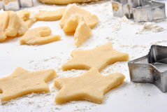 Home made cookies on a white board Royalty Free Stock Photo