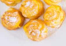 Home Made Cream Puff Close Up III Royalty Free Stock Photo